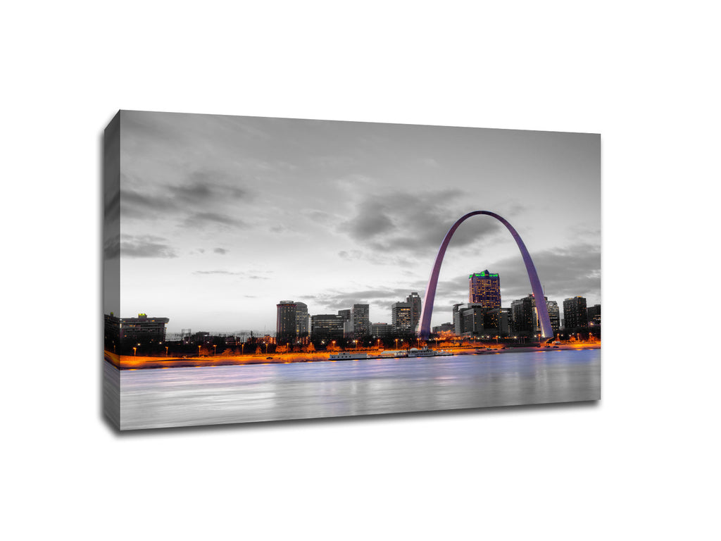 St. Louis Touch of Color Skylines