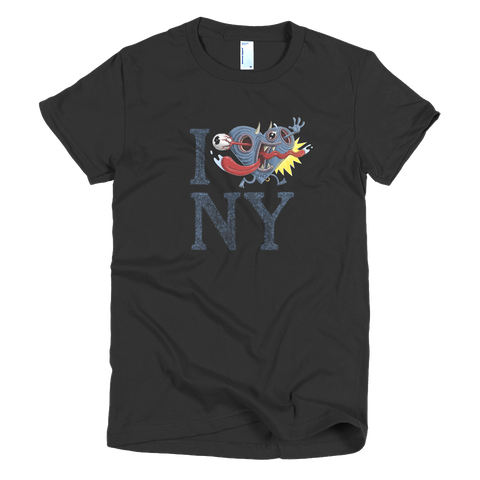 "MEN's ""I ACK NY"" Short-Sleeve Tri-Blend T-Shirt"