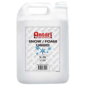 ANTARI - SL5N Snow or Foam Fluid 5 Litre