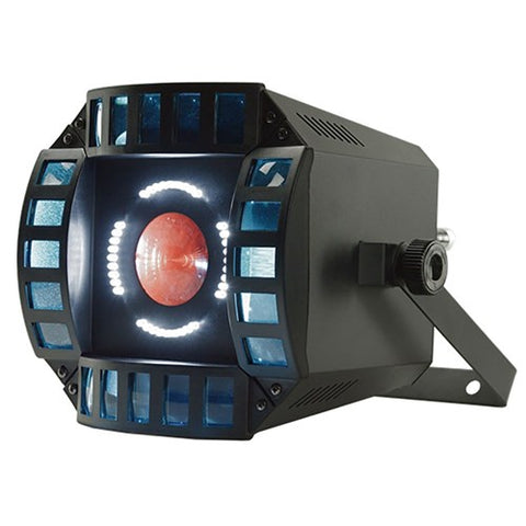 Event Lighting ORBIT - 3 in 1 Effect - LED Matrix, LED Multi Beam and White LED Strobe