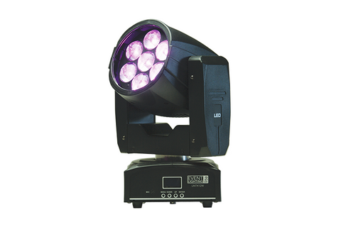Event Lighting Lite - LM7X12W - 7X12W RGBW ZOOM MOVING HEAD WASH