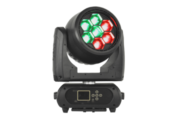 Event Lighting - M7W40RGBW 7 X 40W RGBW PIXEL CONTROL WASH ZOOM HEAD