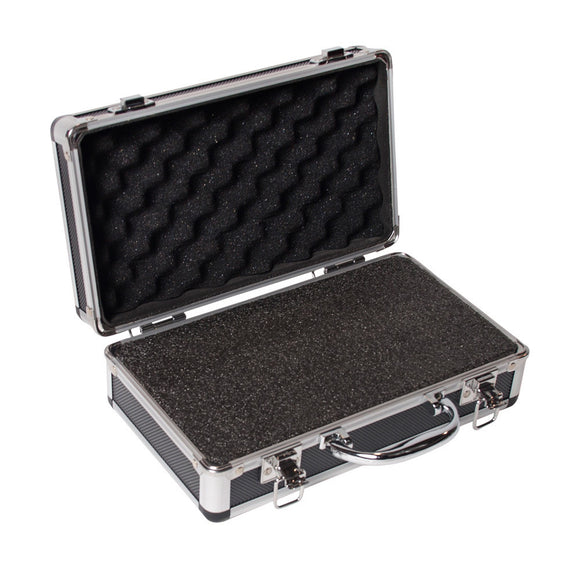 Small Multi-Purpose Empty ABS Microphone Case - With Foam Inserts
