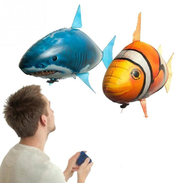 Air Swimming Shark and Clownfish Remote Radio Control