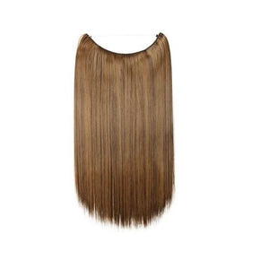 Halo Hair Extensions 20 Inches Invisible Wavy And Straight