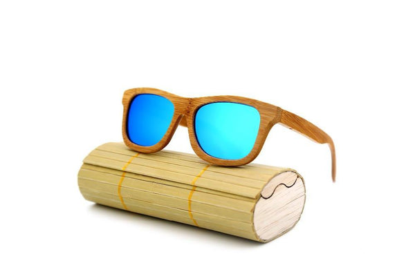 Bamboo Vintage Wood Sunglasses with Polarized Lenses Gykids