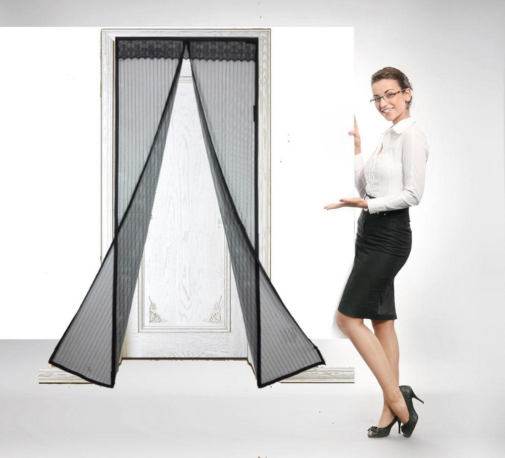 Magnetic Portable Magic Mesh Screen Door Easyhurry