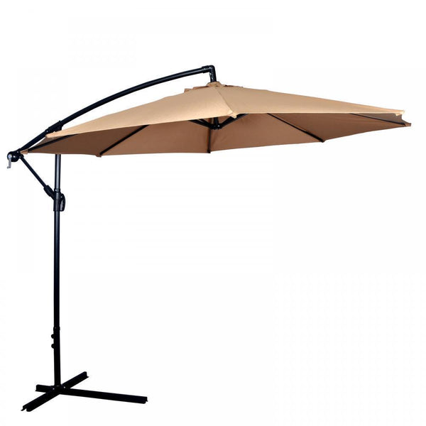 New 10 Patio Umbrella Offset Hanging Umbrella Outdoor Market Umbrella D10