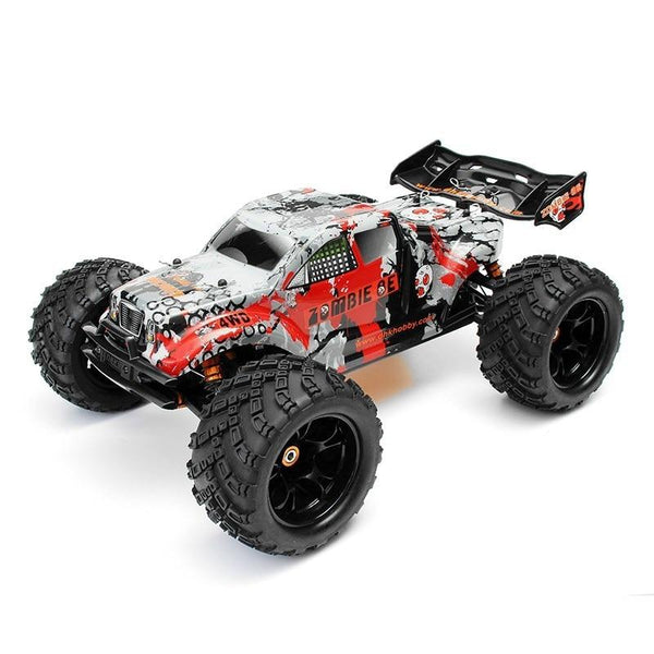 45 Mph 4 Wd Off-Road Racing Truck Hobby 8384 1:8 Wheelie High-Torque