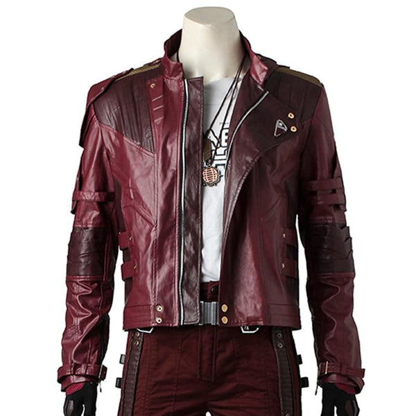 Star Lord Cosplay Jacket Costume Leather Custom Made