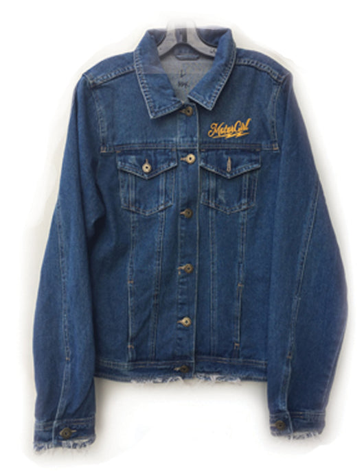 MOTORGIRL KUSTOMS - CLASSIC DENIM JACKET - MotorCult