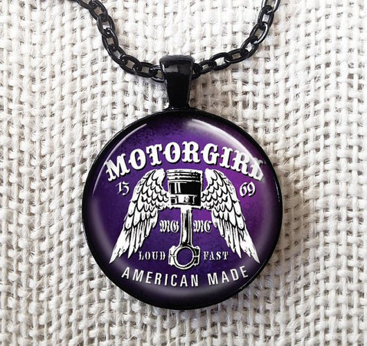 LOUD AND FAST - NECKLACE - MOTORGIRL - MotorCult