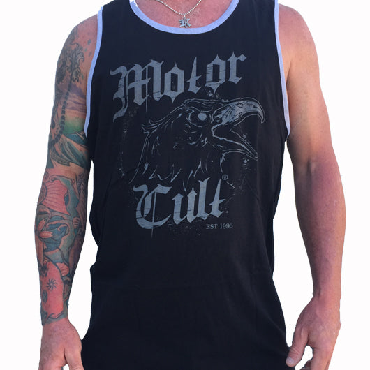 MESSENGER MENS TANK TOP - MotorCult