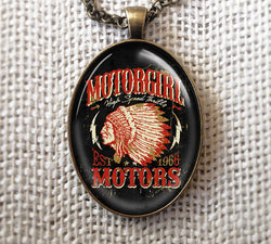 MOTORS - NECKLACE - MOTORGIRL - MotorCult