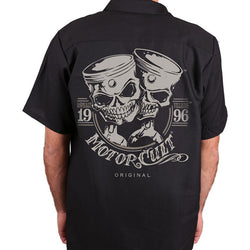 ONE AND ONLY - BUTTON UP WORKSHIRT - MOTORCULT - MotorCult