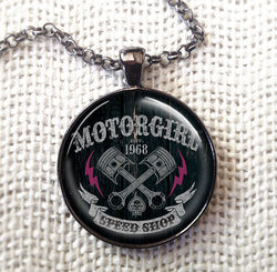 SPEED SHOP - NECKLACE - MOTORGIRL - MotorCult