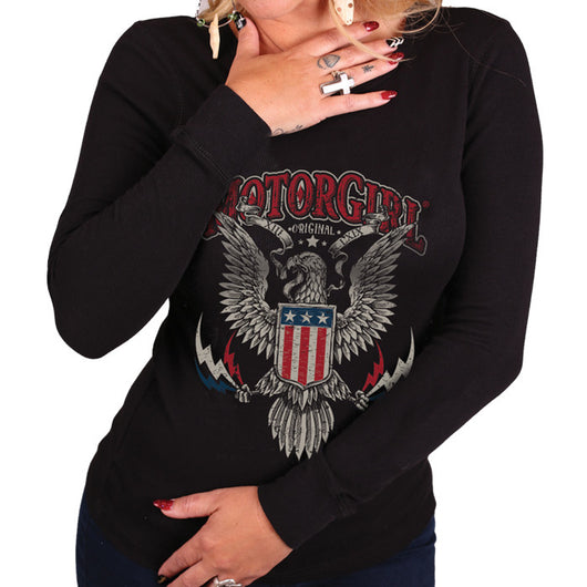 AMERICAN PRIDE WOMENS THERMAL - MotorCult