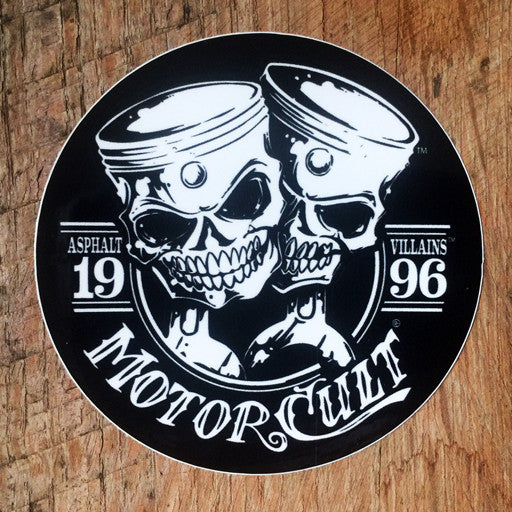 MOTORCULT - ONE & ONLY DECAL - MotorCult