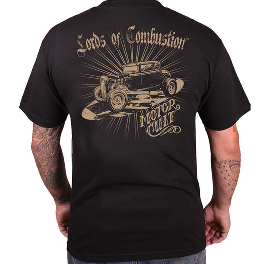 LORDS OF COMBUSTION - MENS T-SHIRT - MOTORCULT - MotorCult