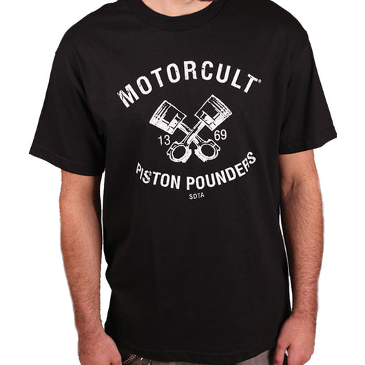 PISTON POUNDERS - MENS T-SHIRT - MOTORCULT - MotorCult