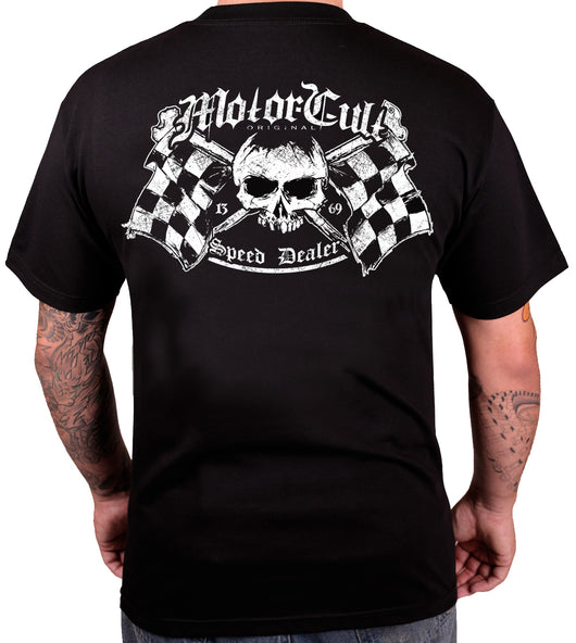 SPEED DEALER - MENS T-SHIRT - MOTORCULT - MotorCult