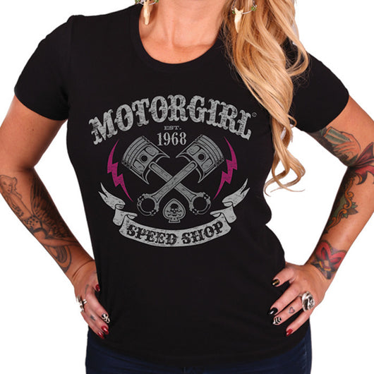 SPEED SHOP TEE - MotorCult