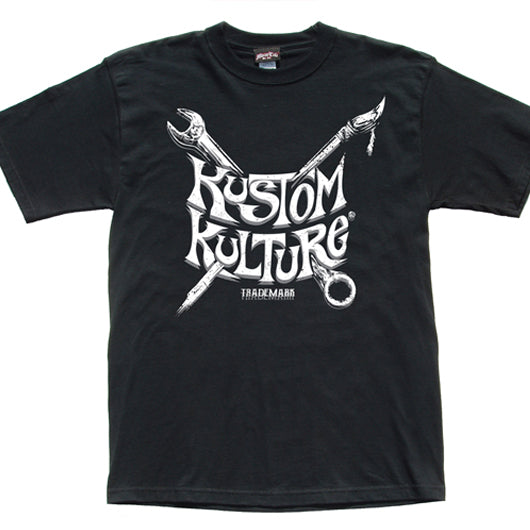 TOOLS OF THE TRADE - MENS T-SHIRT - KUSTOM KULTURE - MotorCult