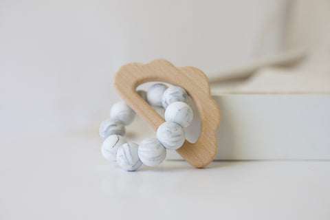 Marble Cloud Teether Toy