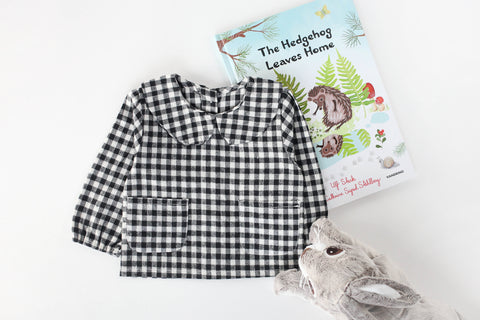 Plaid Cotton Blouse