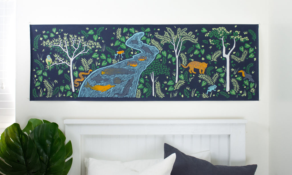 Amazon Jungle Mural