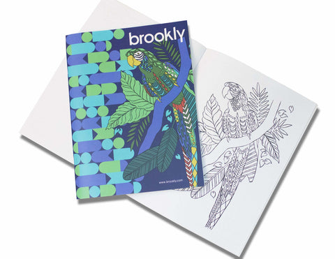 Brookly Coloring Book - FREE Shipping!