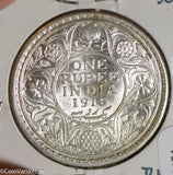 British India 1919 B Rupee silver BU I0451 combine shipping