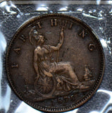 Great Britain 1875 H Farthing  190241 combine shipping