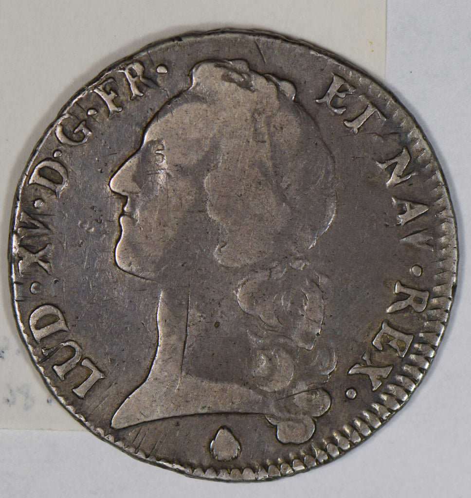France 1752 Ecu silver  F0176 combine shipping