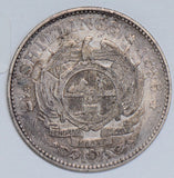 South Africa 1896 2 1/2 Shillings silver  S0167 combine shipping