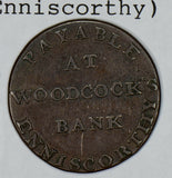 Great Britain 1800  1/2 Penny  Wexford Enniscorthy DH-13 GR0224 combine shipping