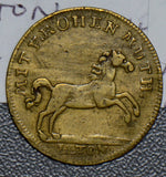 Germany 1800 ~99 Jeton horse animal russland russia Kaiser Nicolaus R0122 combin