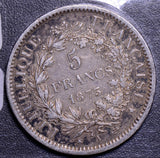 France 1873  5 Francs F0065 combine shipping