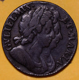 GR0231 Great Britain 1694  1/2 Penny Halfpenny combine shipping