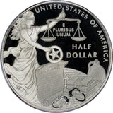 PC0015 2015 S US Marshals half dollar proof PCGS PR 70DCAM 225th anniversary