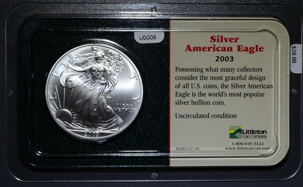 United States  2003 Dollar  Eagle U0006 combine shipping