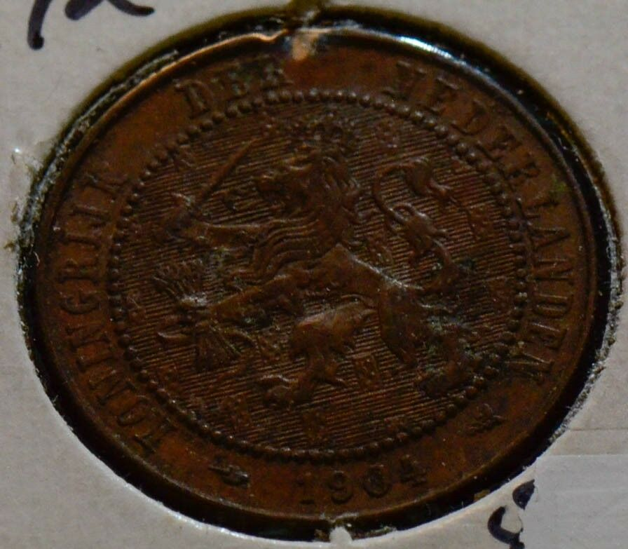 Netherlands 1904 2 1/2 Cents N0001 combine shipping