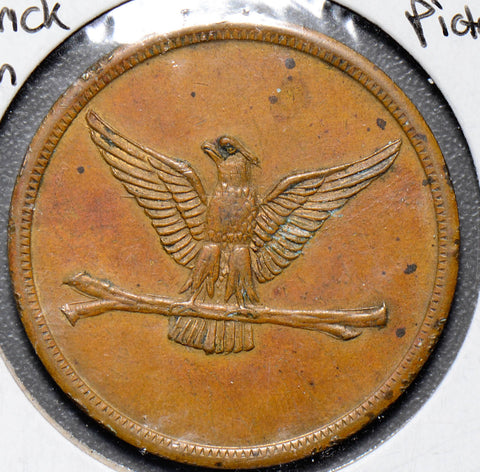 1900 s token  maverick token $20 rare eagle U0025 combine shipping