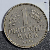 Germany 1958 G Mark  GE0102 combine shipping