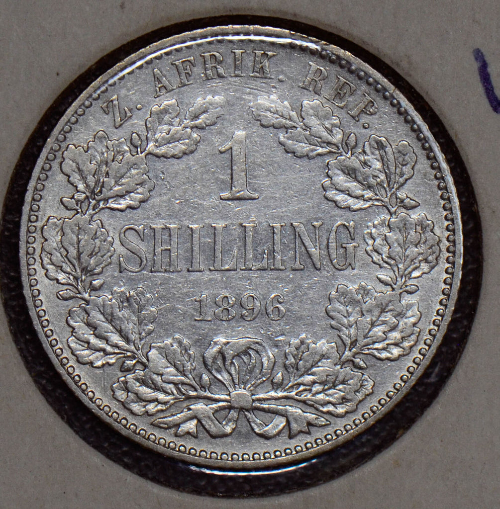 South Africa 1896 Shilling  190166 combine shipping