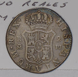 Spain 1775 PJ 2 Reales silver  S0218 combine shipping