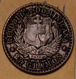 D0029 Dominican Republic 1897  10 Centavos  combine shipping