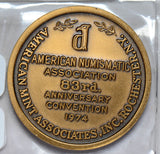 1974  medal  ANA 83rd anniversary convention U0023 combine shipping
