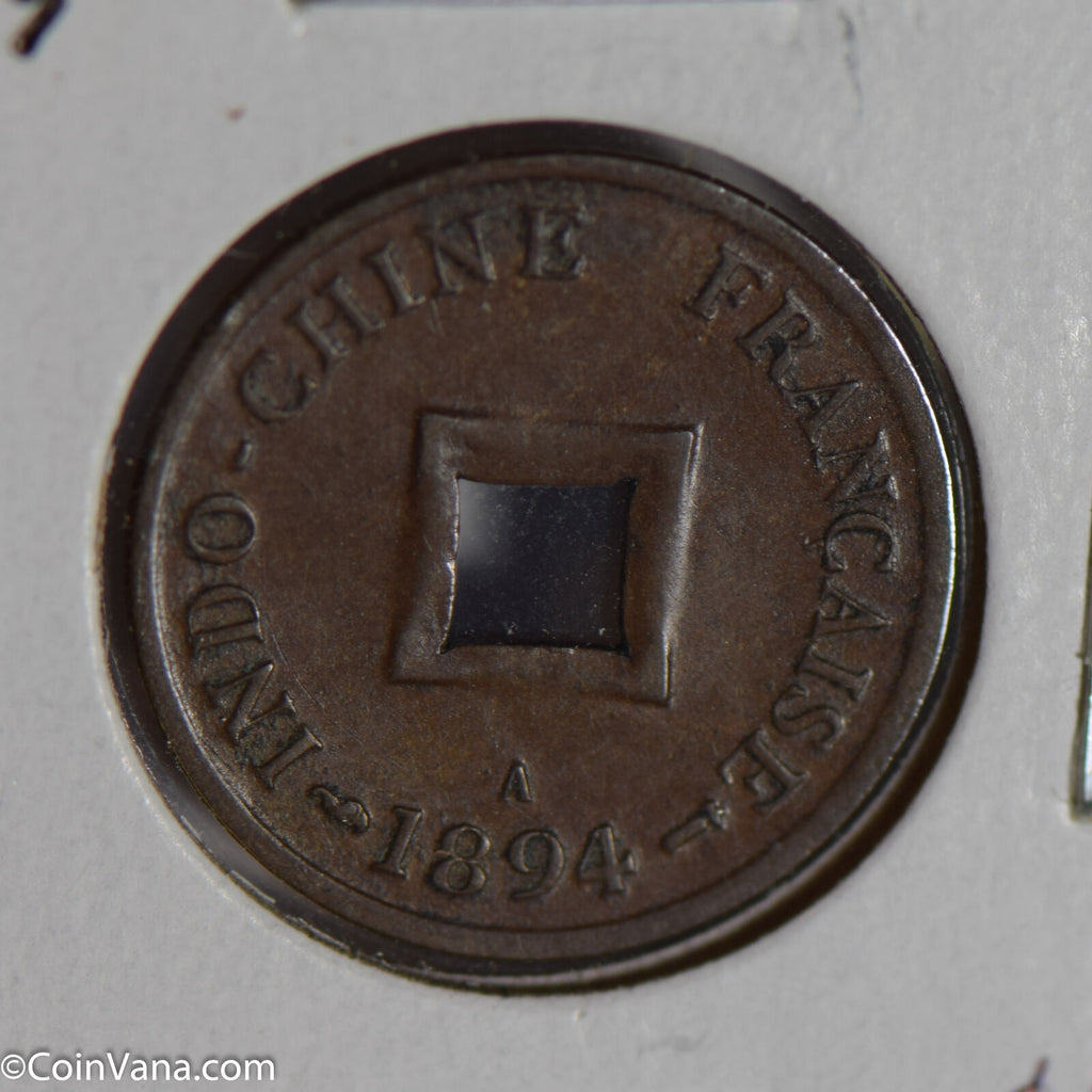 French Indo china 1894 A 2 Cents  F0185 combine shipping