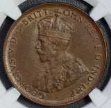 Australia 1919 M Penny NGC MS62BN dot below scroll NG0569 combine shipping